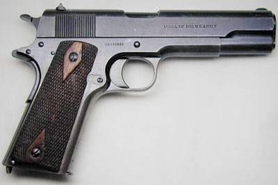 Самый популярный пистолет: Colt M1911