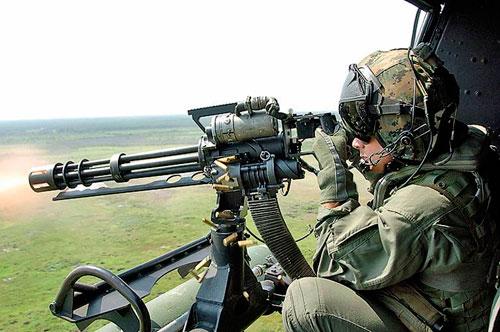 Самое скорострельное серийное оружие: M134 Minigun