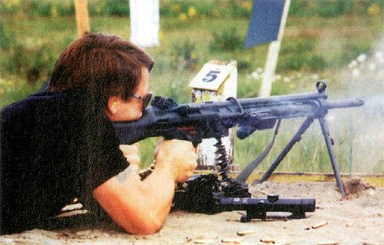 Эпохальная очередь длиной в 1000 выстрелов из единого пулемета НК-21 калибра 7,62x51