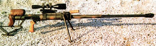 Снайперская винтовка «Gepard» венгерского производства калибра 12,7x108