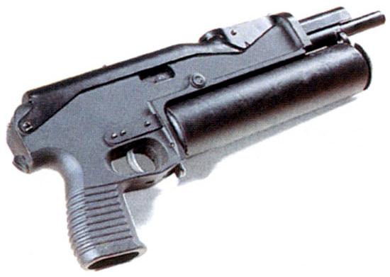 Пистолет-пулемет ПП-90М1 со шнековым магазином