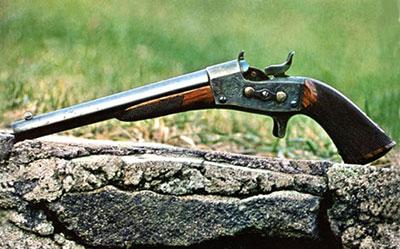 Гражданский пистолет 1866 компании Нэви Армз