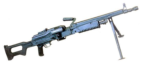 Ковровский вариант модернизации ПКМ – пулемет АЕК999