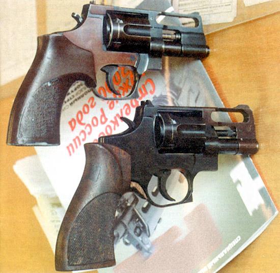 Револьвер «Носорог» был разработан также  С.И. Кокшаровым. Оригинальная схема этого оружия позволила значительно  повысить его эффективность, однако револьвером до сих пор серьезно не  заинтересовалось ни одно из силовых ведомств