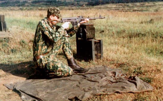 АВБ способна  решать часть огневых задач как ручной пулемет