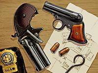 Карманные неавтоматические пистолеты типа «дерринджер». Среди наиболее популярных оказался «Ремингтон Дабл»