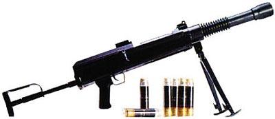 30-мм автоматический ручной гранатомет Барышева АРГБ (вид справа)