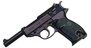 9-мм пистолет Walther Р.38 производства ФРГ