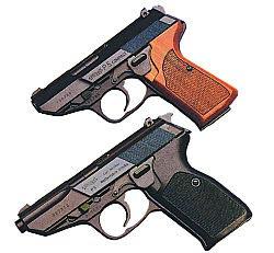 Пистолеты Walther на переднем плане - Р.5 на заднем плане - Р.5 Compact