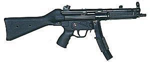 9-мм пистолет-пулемет Heckler & Koch МР.5А2