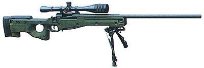 Снайперская винтовка AI Super Magnum AWM (арктический вариант)