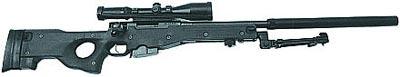 Снайперская винтовка G.22 с прибором для бесшумно-беспламенной стрельбы