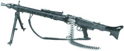 Единый пулемет МG.1А3 в варианте ручного пулемета