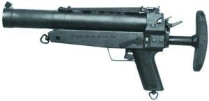 40-мм ручной гранатомет МZР.1 (НК.1) в походном положении