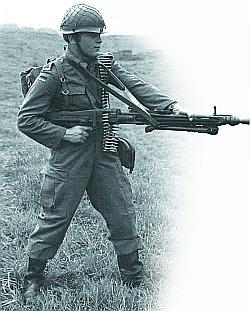 Единый пулемет МG.3. Стрельба с руки