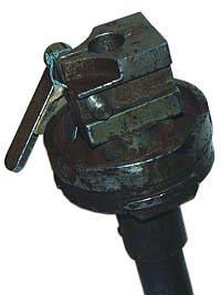 Муфта искривленного ствола-насадки для ручного пулемета Дегтярева РПД