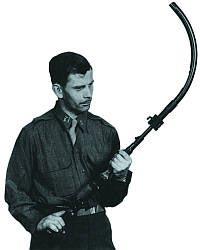 Автомат (штурмовая винтовка) МР.44 со стволом-насадкой Vorsatz J (пехотный вариант) с искривлением 90 градусов