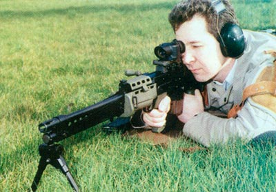 Аналогично тренировочной винтовке, легкое оружие поддержки было переделано в магазинную спортивную винтовку. Это последний коммерческий образец завода в Ноттингеме