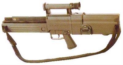 Германская автоматическая винтовка G11, использующая автоматику с накоплением импульса так и не пошла в серию из-за высокой стоимости