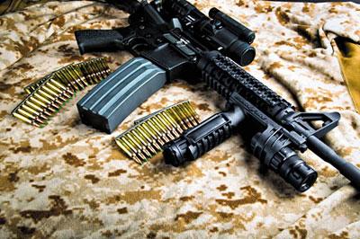 «Черная винтовка». Создание