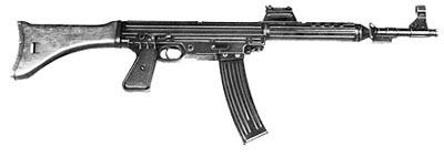 7,92-мм автоматический карабин фирмы Walther Мкb.42 (W). Опытный образец, изготовленный в 1942 году