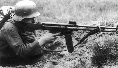 7,92-мм автоматический карабин фирмы C.G.Нaenel конструкции Х. Шмайссера Мкb.42(Н)