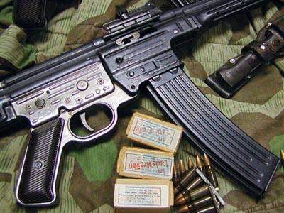 7,92-мм автомат МР.43 и «короткие» патроны к нему