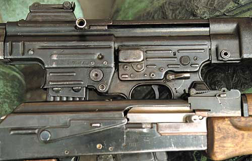 МР-43/44 и автомат Калашникова