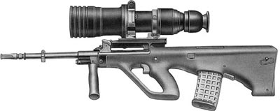 5,56-мм штурмовая винтовка AUG А1