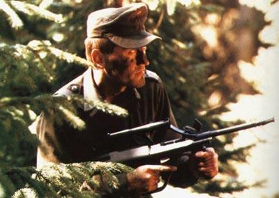 Австрийский солдат со штурмовой винтовкой StG.77 (AUG А1)