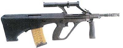 5,56-мм полицейский самозарядный карабин AUG-P