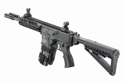 Вид винтовки сбоку