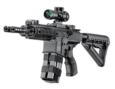 «Визитной карточкой» винтовок «Гильбоа» служит высокоэффективное надульное устройство, обеспечивающее одновременно снижение отдачи, уменьшение подброса оружия вверх и снижение пламенности выстрела