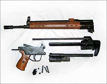 7,62-мм автоматическая винтовка НК G3 А4