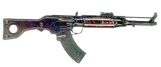 7,62-мм образец, выполненный по пистолетной схеме