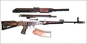 5,4-мм опытный автомат СА-006