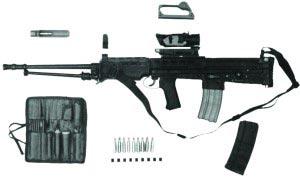5,56-мм ручной пулемет XL 73E2 в комплекте
