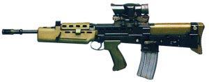 5,56-мм автоматическая штурмовая винтовка L85A1