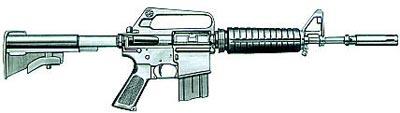 Карабин М609 «Colt Kommando»