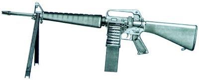 """Винтовка """"Кольт"""" AR15A2 HBAR модель 741"""