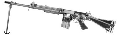 Разрез винтовки FN FAL мод. 50-00