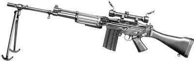 7,62-мм автоматическая винтовка FN FALO мод. 50-41