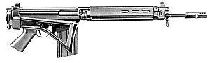7,62-мм автоматическая винтовка FN FAL мод. 50-64