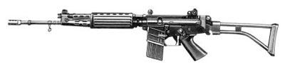 5,56-мм автоматическая винтовка FN СAL (со складывающимся металлическим прикладом)