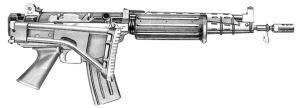 5,56 мм автоматическая винтовка FNС мод. 92-00