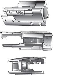 Вкладыш 7,62-мм автомата Калашникова АК образца 1949 года (со штампованной ствольной коробкой) (из руководства службы 1952 года издания)