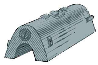 Стандартный кумулятивный заряд ВВ КЗУ
