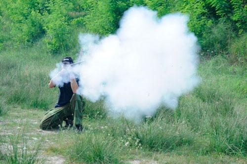 Почему забыт дымный порох?