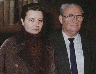 Игорь Павлович Суханов и Марина Варламовна Хабурзания