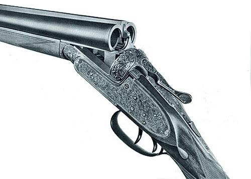 Лучшим нашим спортивным ружьем с горизонтальным блоком стволов можно считать МЦ-11. Прототипом его было классическое ружье Перде.
